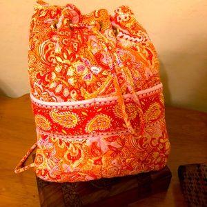 Vera Bradley Sherbet Drawstring Bag